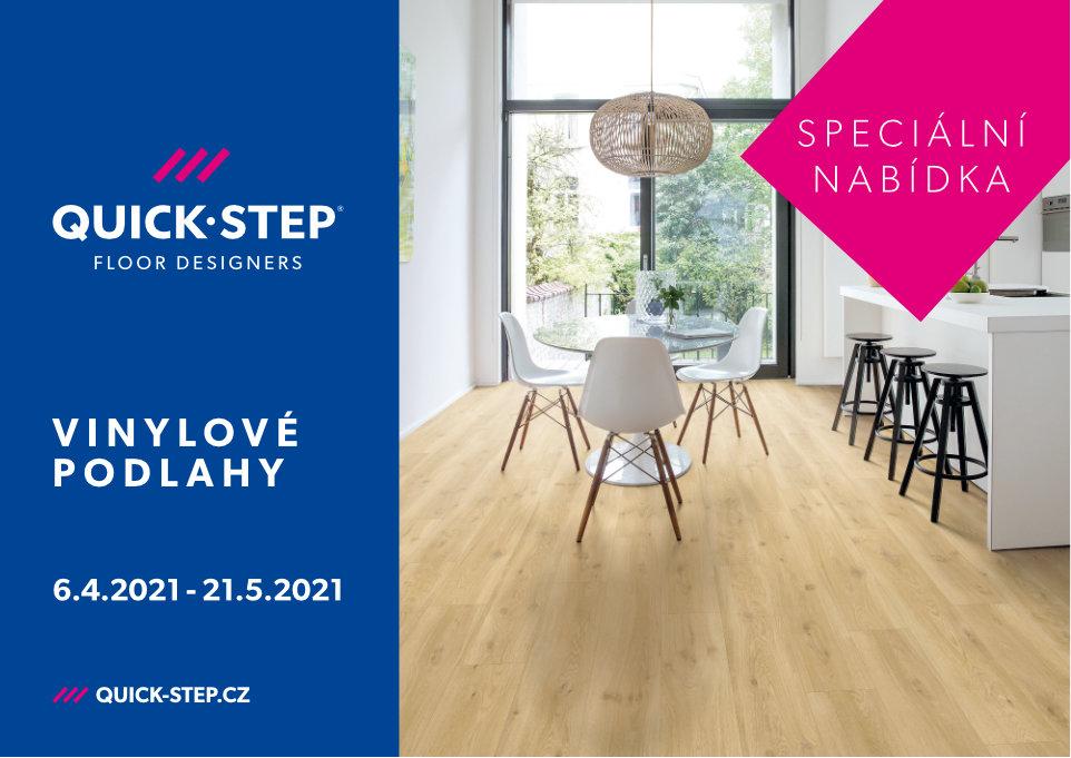 Speciální nabídka na podlahy QuickStep